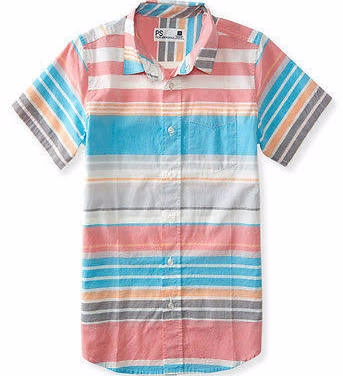 Boys' Striped Woven Shirt