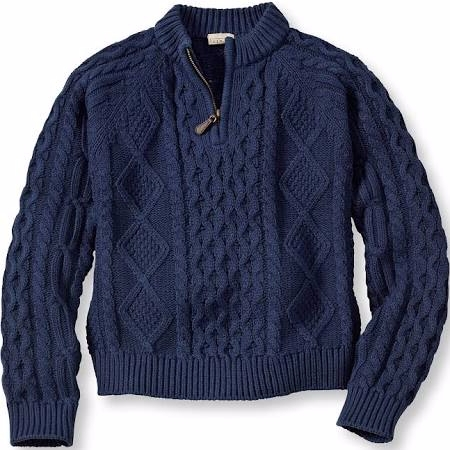 Kids' Fisherman Sweater